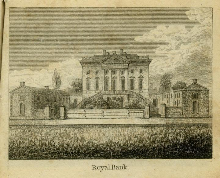 Glasgow Delineated 1836 Royal Bank