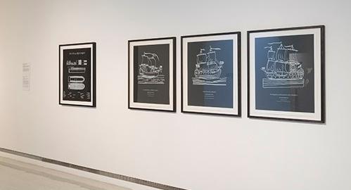 'Polygraphs' exhibition GoMA, Glasgow